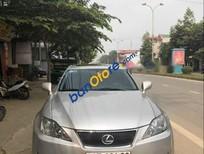 Cần bán lại xe Lexus IS 250 năm 2007, màu bạc, nhập khẩu nguyên chiếc, giá chỉ 800 triệu
