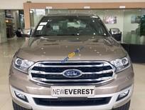 Bán Ford Everest 2.0L 4x4 Titanium AT đời 2018, màu ghi vàng nhập khẩu tại Hà Giang