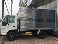 Bán xe tải Isuzu 2.4 tấn thùng kín, thùng mui các loại KM thuế trước bạ giá cả cạnh tranh, LH: Ms Linh 0968.089.522