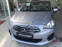 Bán ô tô Mitsubishi Attrage 1.2 MT năm sản xuất 2018, màu bạc, nhập khẩu