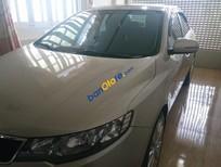 Cần bán lại xe Kia Forte SX AT năm sản xuất 2012, màu vàng