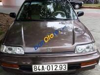 Cần bán xe Honda Civic sản xuất 1991, màu nâu
