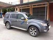 Cần bán Ford Everest sản xuất 2011, màu xám số tự động, giá chỉ 575 triệu