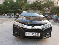 Cần bán gấp Honda City 1.5 CVT năm 2016, màu đen, 525tr