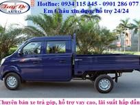 Bán xe tải Cabin đôi, 5 chỗ ngồi, Trường Giang T3, thiết kế đẹp, tiện dụng, giá tốt