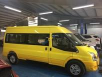 Ford Transit SVP màu vàng, đủ màu theo yêu cầu của khách, giá tốt, có trả góp. LH 0965.423.558
