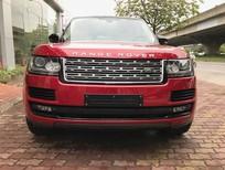 Bán LandRover Range Rover HSE 3.0V6, màu đỏ xe xuất Mỹ sản xuất 2015, ĐK 2016 tư nhân, xe rất đẹp đi 28.000km