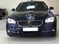 Bán BMW 5 Series 520i sản xuất năm 2014, màu xanh lam, xe nhập