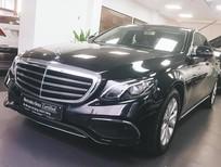 Cần bán Mercedes E200 2017 màu đen chính hãng, đã qua sử dụng