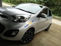 Cần bán gấp Kia Morning 1.25 S sản xuất 2014, màu bạc, nhập khẩu nguyên chiếc