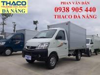 Bán xe tải Thaco 990kg thùng kín có máy lạnh, hỗ trợ trả góp 70% tại Đà Nẵng
