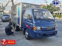 Bán xe tải nhẹ Jac 1t5 màu xanh, thùng dài 3m2