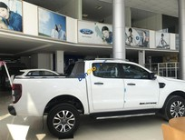 Bán xe Ford Ranger Wildtrak Biturbo 2018, màu trắng, nhập khẩu nguyên chiếc, lh 0989022295 tại Hà Giang