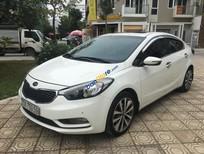 Cần bán xe Kia K3 1.6AT sản xuất năm 2015, màu trắng, giá chỉ 555 triệu