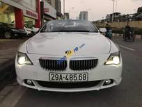 Bán ô tô BMW 6 Series 650C sản xuất 2006, màu trắng, nhập khẩu ít sử dụng, giá tốt