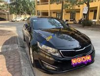 Bán Kia K5 sản xuất 2010, màu đen, trang bị an toàn cao, nội thất cực đẹp, máy gầm bệ êm ái