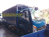Bán xe tải Veam VT260-1 1T9 (1.9 tấn), thùng dài 6.2 mét, đi vào thành phố ban ngày