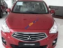 Bán xe Mitsubishi Attrage năm sản xuất 2018, màu đỏ, nhập khẩu