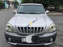 Cần bán lại xe Hyundai Terracan sản xuất năm 2003, màu bạc, nhập khẩu