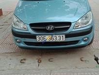 Cần bán Hyundai Getz năm sản xuất 2009, màu xanh lam, nhập khẩu nguyên chiếc