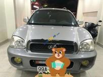 Cần bán gấp Hyundai Santa Fe Gold 2.0 AT đời 2004, màu bạc, nhập khẩu