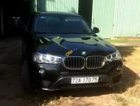 Cần bán lại xe BMW X3 diesel xDrive 20d X-Line đời 2015, màu đen, nhập khẩu nguyên chiếc
