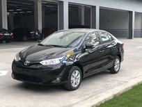 Bán Toyota Vios 1.5E CVT năm 2018, màu đen, giá 569tr