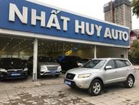 Bán xe cũ Hyundai Santa Fe 2.7AT đời 2007, màu bạc
