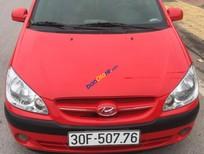 Bán Hyundai Getz AT năm sản xuất 2006, màu đỏ, nhập khẩu