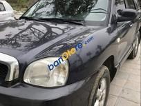 Bán Hyundai Santa Fe sản xuất năm 2004, màu đen, xe nhập số tự động, giá tốt