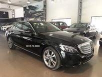 Cần bán Mercedes C250 Exclusive sản xuất 2018, màu đen như mới