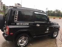 Xe Ssangyong Korando TX5 sản xuất 2002, màu đen, nhập khẩu nguyên chiếc chính chủ