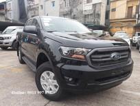 Bán xe Ford Ranger XLS 2.2L AT 2019, màu đen, nhập khẩu nguyên chiếc giao ngay liên hệ 0911997877