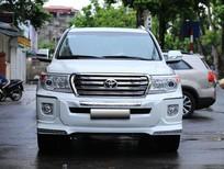 Cần bán Toyota Land Cruiser 4.5 V8, Diesel 2014, màu trắng, xe đẹp không lỗi