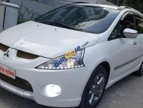 Bán Mitsubishi Grandis Limited 2.4 AT ĐK 2011, sx 2010, số tự động, màu trắng, còn mới đẹp