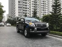 Bán Toyota Prado sản xuất năm 2010, màu đen, nhập khẩu nguyên chiếc