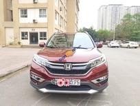 Cần bán lại xe Honda CR V 2.4 năm 2016, màu đỏ