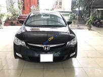 Cần bán xe Honda Civic 1.8 AT năm 2008, màu đen chính chủ