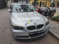 Cần bán gấp BMW 5 Series 525i năm sản xuất 2004, màu bạc, nhập khẩu xe gia đình