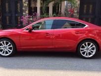 Cần bán lại xe Mazda 6 2.5 AT 2016, màu đỏ