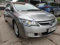 Cần bán lại xe Honda Civic 1.8AT năm sản xuất 2009, màu bạc số tự động, 395 triệu
