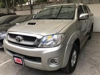 Cần bán xe Toyota Hilux 3.0G năm 2009, màu bạc, nhập khẩu nguyên chiếc số sàn