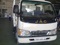 Bán JAC HFC 2 tấn 4 thùng lửng 2017, màu bạc, 298tr