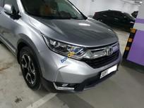 Bán Honda CR V E sản xuất 2018, màu bạc, xe nhập