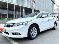 Cần bán lại xe Honda Civic 1.8AT sản xuất năm 2012, màu trắng