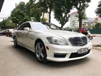 Cần bán gấp Mercedes S63 AMG đời 2010, màu trắng, nhập khẩu chính hãng