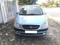 Xe Hyundai Getz 1.1 MT sản xuất 2010, màu xanh lam, nhập khẩu
