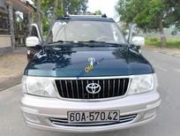 Bán Toyota Zace dòng cao cấp GL, mới như xe trong hãng, màu xanh vỏ dưa hiếm có, 2005-xe zin 100%