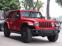 Bán xe Jeep Wrangler Unlimited Rubicon đời 2020, màu đỏ, nhập khẩu nguyên chiếc