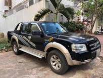 Bán Ford Ranger XLT 4x4 MT sản xuất năm 2008, màu đen, xe đẹp